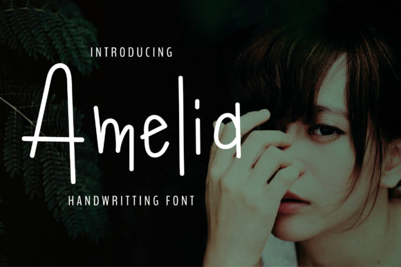 Print on Demand: Amelia Script & Handwritten Font By BitongType