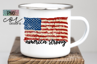 Print on Demand: America Strong Graphic Crafts By designscor