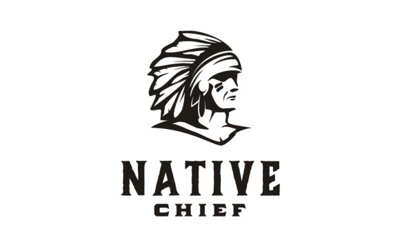Download Free American Native Indian Chief Headdress Graphic By Enola99d for Cricut Explore, Silhouette and other cutting machines.