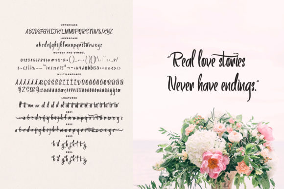 Print on Demand: Artics Snow Script & Handwritten Font By feydesign - Image 5