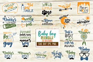 Baby Boy Craft Bundle Graphic Crafts By Mint And Beer Creations