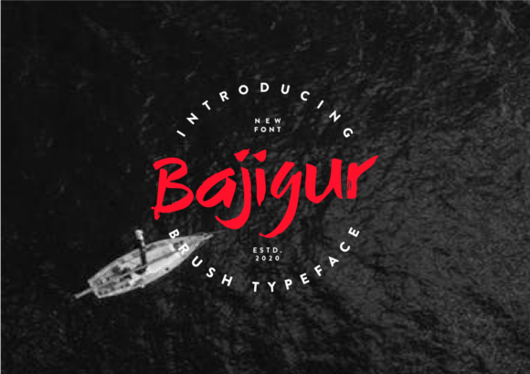 Print on Demand: Bajigur Display Font By ketapelcreative