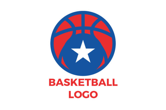 Download Free Basketball Logo Graphic By Danmoroboshi Creative Fabrica for Cricut Explore, Silhouette and other cutting machines.