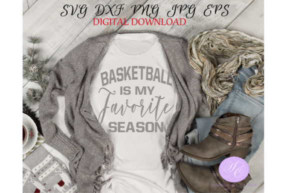 Print on Demand: Basketball is My Favorite Season Graphic Illustrations By Shannon Casper
