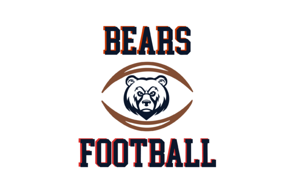 Download Free Bears Football High School Mascot Svg Graphic By Am Digital for Cricut Explore, Silhouette and other cutting machines.