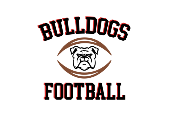 Download Free Bulldogs Football High School Mascot Svg Graphic By Am Digital for Cricut Explore, Silhouette and other cutting machines.