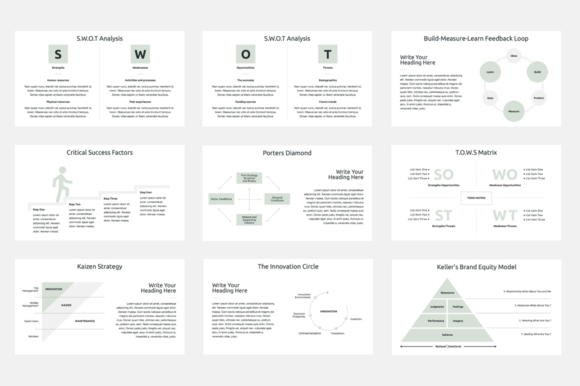 Download Free Business Strategy Keynote Template Graphic By Jetztemplates for Cricut Explore, Silhouette and other cutting machines.