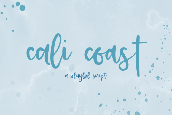 Print on Demand: Cali Coast Script & Handwritten Font By BeckMcCormick