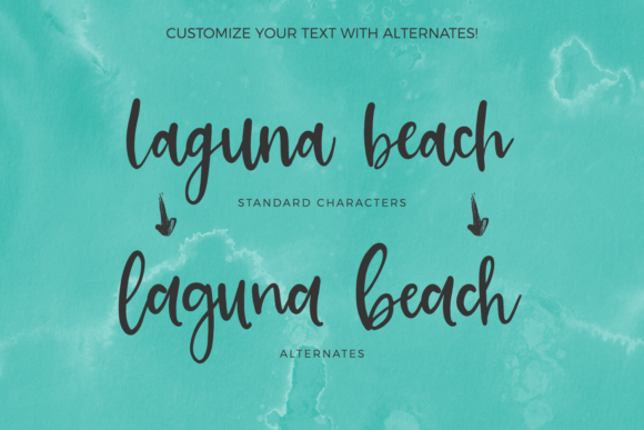 Print on Demand: Cali Coast Script & Handwritten Font By BeckMcCormick - Image 6