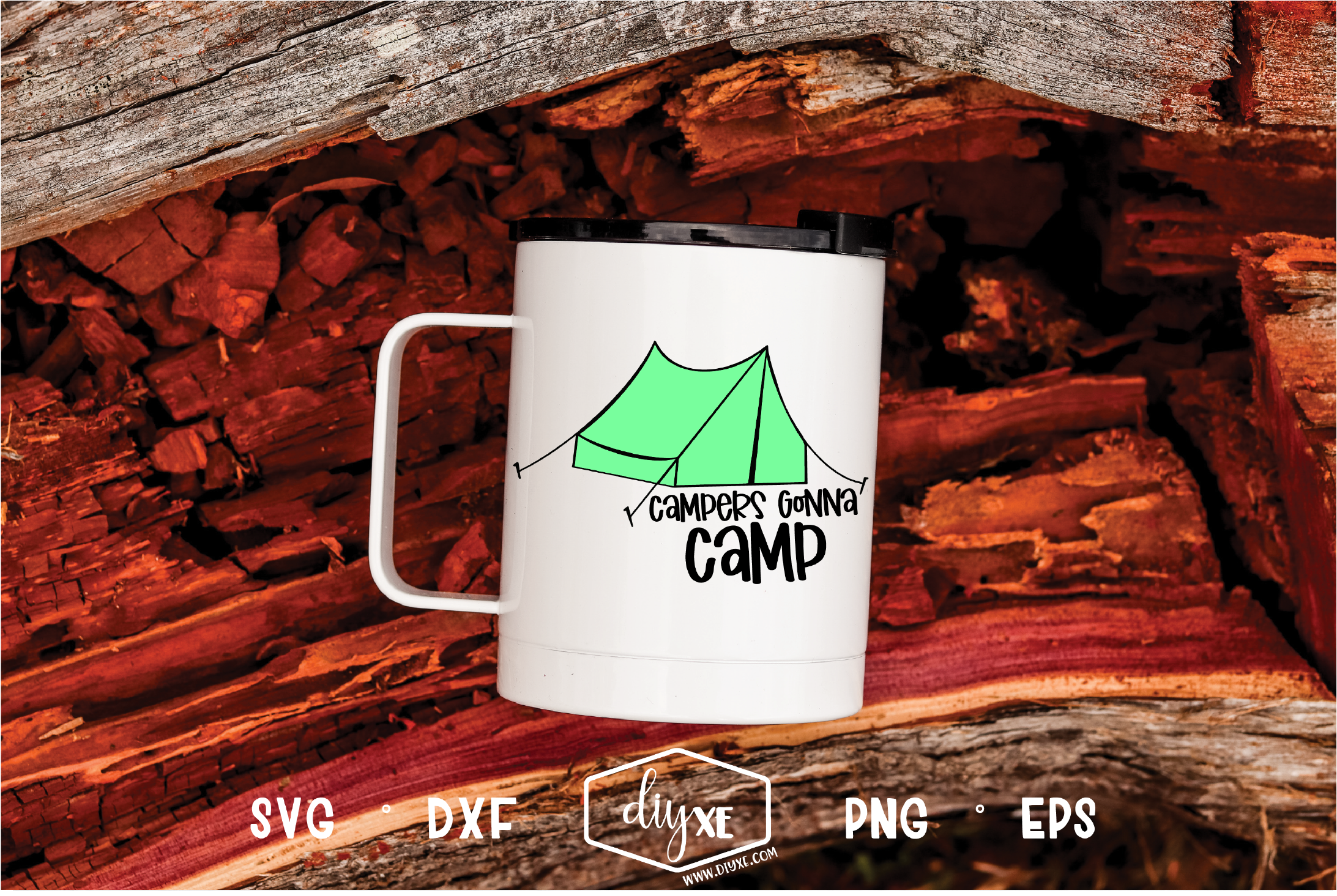 Download Free Campers Gonna Camp Graphic By Sheryl Holst Creative Fabrica for Cricut Explore, Silhouette and other cutting machines.