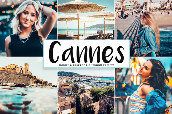 Print on Demand: Cannes Lightroom Presets Pack Graphic Actions & Presets By Creative Tacos