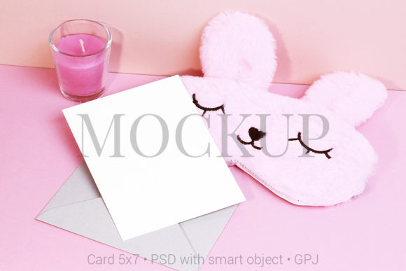 Download Free Card Mockup With Angel Graphic By Pawmockup Creative Fabrica for Cricut Explore, Silhouette and other cutting machines.