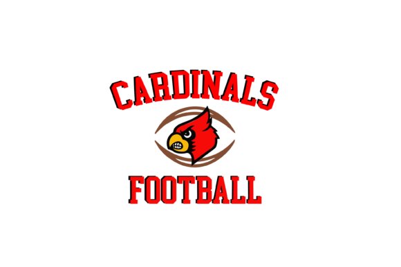 Download Free Cardinals Football High School Mascot Graphic By Am Digital for Cricut Explore, Silhouette and other cutting machines.
