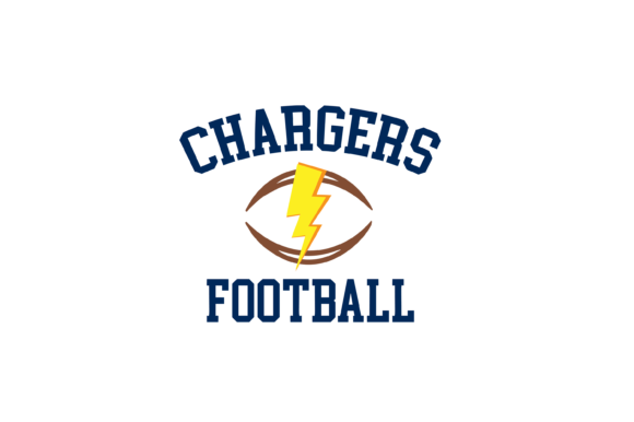 Download Free Chargers Football High School Mascot Svg Graphic By Am Digital Designs Creative Fabrica for Cricut Explore, Silhouette and other cutting machines.