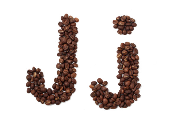 Download Free Coffee Alphabet J Graphic By Minuitnite Creative Fabrica for Cricut Explore, Silhouette and other cutting machines.
