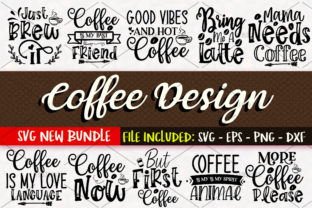 Print on Demand: Coffee Bundle Vol 1 Graphic Crafts By OrinDesign
