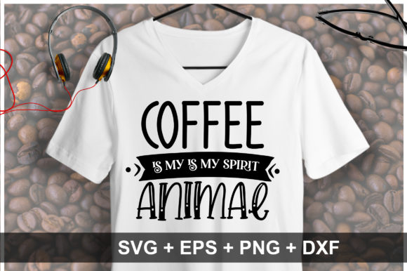 Print on Demand: Coffee SVG Bundle Vol 1 Graphic Crafts By OrinDesign - Image 5