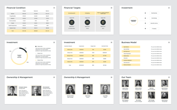 Download Free Company Profile Keynote Template Graphic By Jetztemplates for Cricut Explore, Silhouette and other cutting machines.