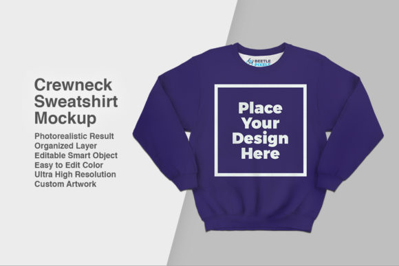 Download Free Crewneck Sweatshirt Mockup Grafico Por Svgsupply Creative Fabrica for Cricut Explore, Silhouette and other cutting machines.