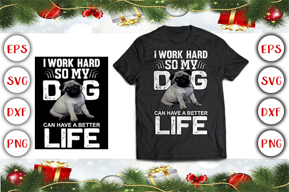 Download Free Dog T Shirt Design Graphic By Graphics Cafe Creative Fabrica for Cricut Explore, Silhouette and other cutting machines.