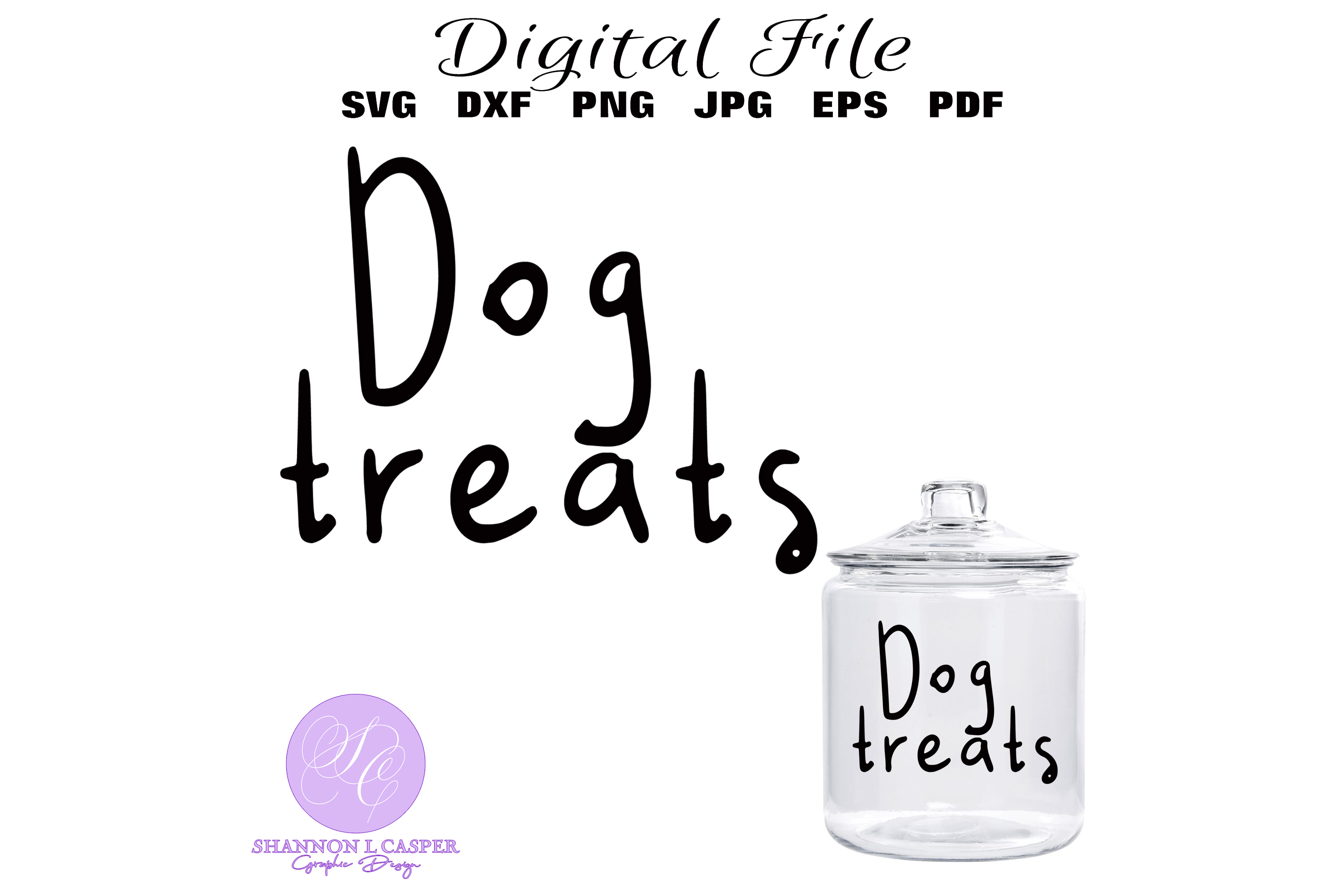 Download Free Dog Treats Svg Graphic By Shannon Casper Creative Fabrica for Cricut Explore, Silhouette and other cutting machines.