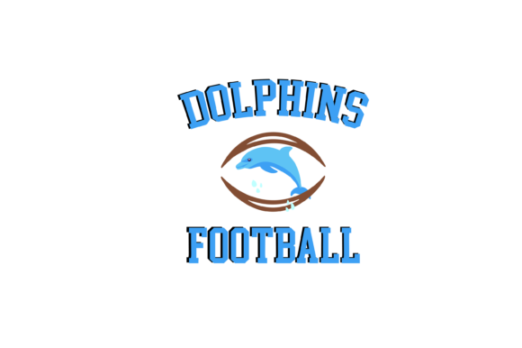 Download Free Dolphins Football High School Mascot Svg Graphic By Am Digital for Cricut Explore, Silhouette and other cutting machines.