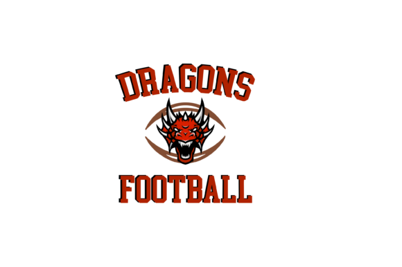 Download Free Dragons Football High School Mascot Svg Graphic By Am Digital for Cricut Explore, Silhouette and other cutting machines.
