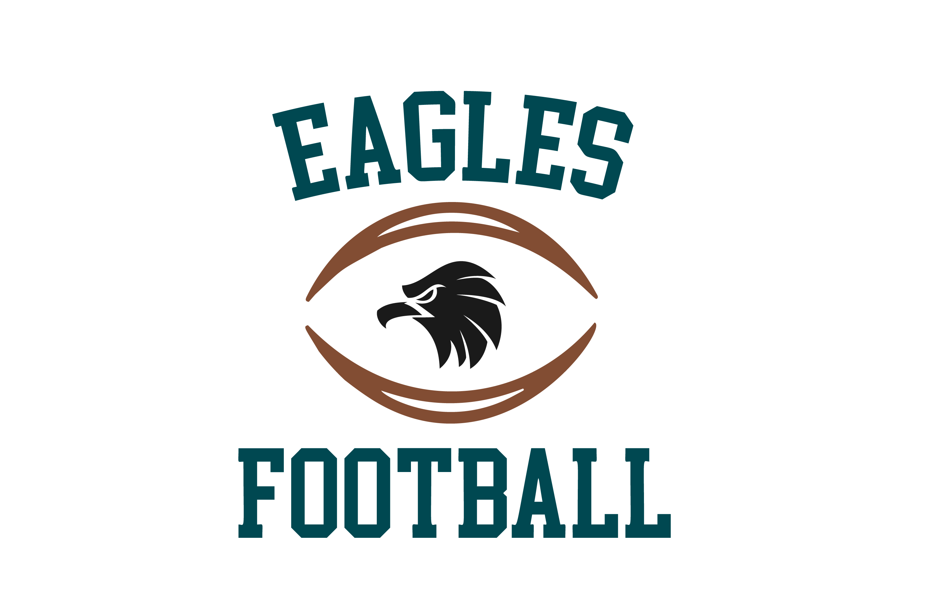 Download Free Eagles Football High School Mascot Svg Graphic By Am Digital for Cricut Explore, Silhouette and other cutting machines.