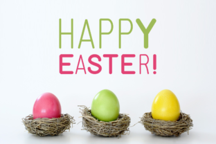 Print on Demand: Easter Display Font By Instagram Fonts 2