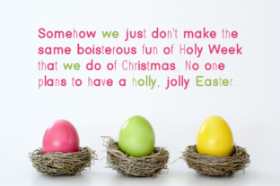 Print on Demand: Easter Display Font By Instagram Fonts 3