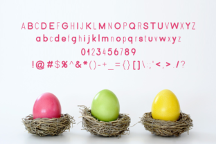 Print on Demand: Easter Display Font By Instagram Fonts 4