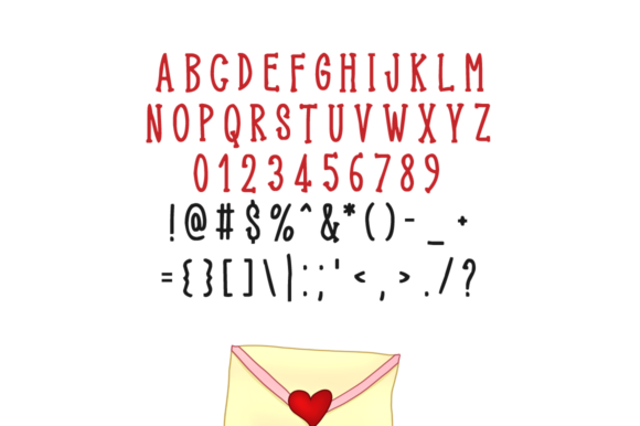 Print on Demand: Exquisite Valentine Display Font By FontEden - Image 5