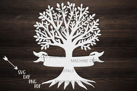 Family Tree with Names  Graphic Crafts By Cornelia