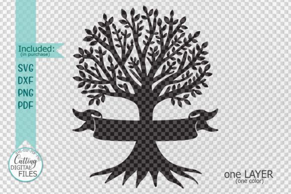 Family Tree With Names Graphic By Cornelia Creative Fabrica