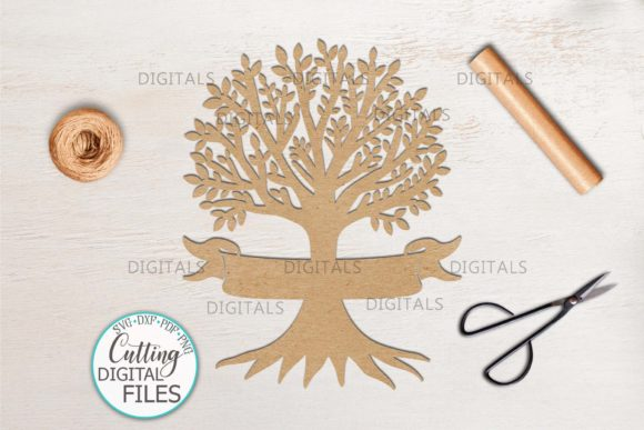 Family Tree with Names Svg Dxf Cut out Graphic Crafts By Cornelia - Image 3