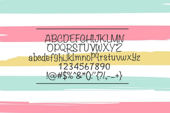 Print on Demand: Flowrelis Color Fonts Font By iyhulmonsta - Image 3