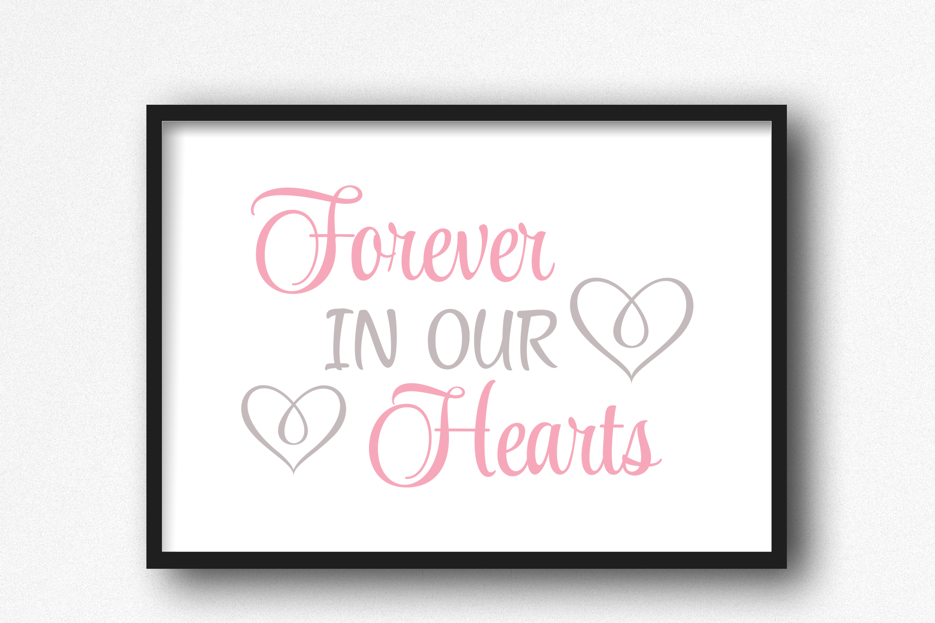 Download Free Forever In Our Hearts Graphics Svg Png Graphic By Am Digital for Cricut Explore, Silhouette and other cutting machines.