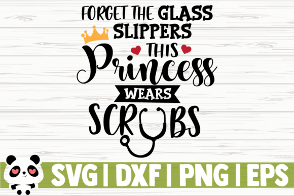 Print on Demand: Forget the Glass Slippers This Princess Graphic Illustrations By CreativeDesignsLLC