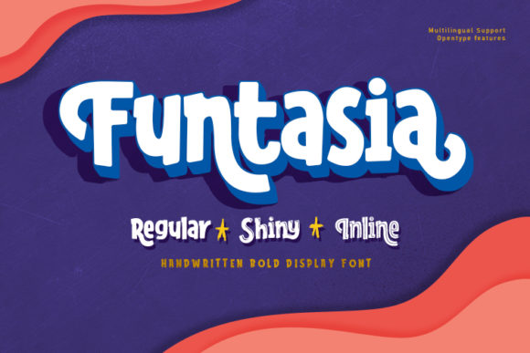 Print on Demand: Funtasia Display Font By RVST