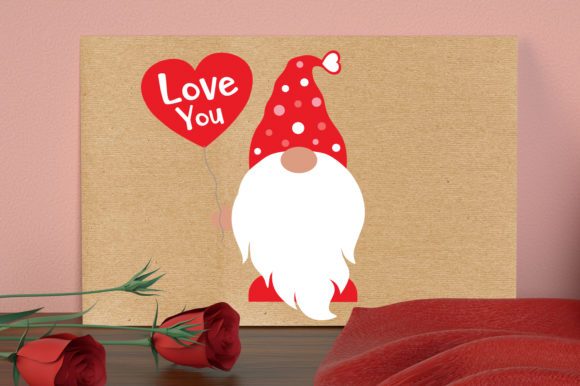 Gnome Love Svg, Valentines Gnomie Svg Graphic Crafts By All About Svg - Image 5