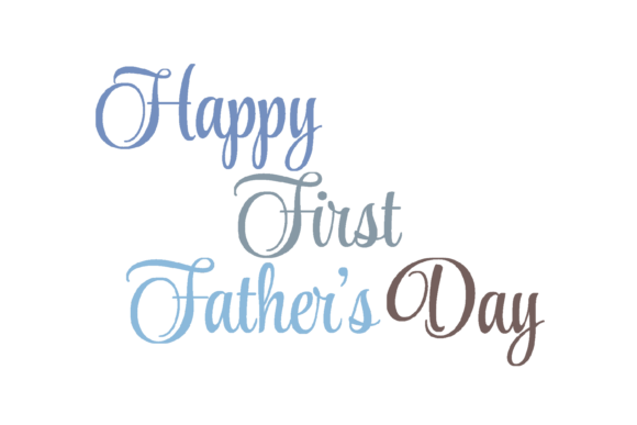 Download Free Happy First Father S Day Svg Graphic Graphic By Am Digital for Cricut Explore, Silhouette and other cutting machines.