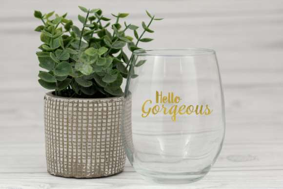 Print on Demand: Hello Gorgeous SVG PNG Graphics Graphic Print Templates By Angela Wheeland