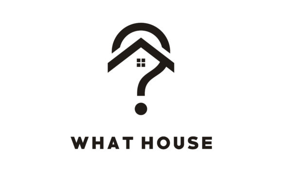 Download Free Home House With Question Mark Logo Graphic By Enola99d for Cricut Explore, Silhouette and other cutting machines.