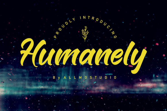 Print on Demand: Humanely Display Font By AllmoStudio