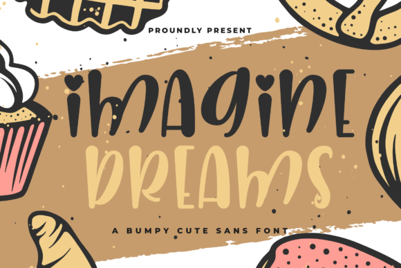 Print on Demand: Imagine Dreams Sans Serif Font By Fallengraphic