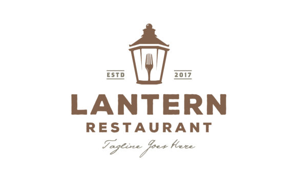 Download Free Lantern Post Classic Street Lamp Logo Graphic By Enola99d for Cricut Explore, Silhouette and other cutting machines.