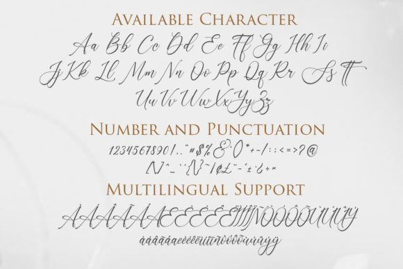 Print on Demand: Sonetha Script & Handwritten Font By Gilar Studio - Image 2