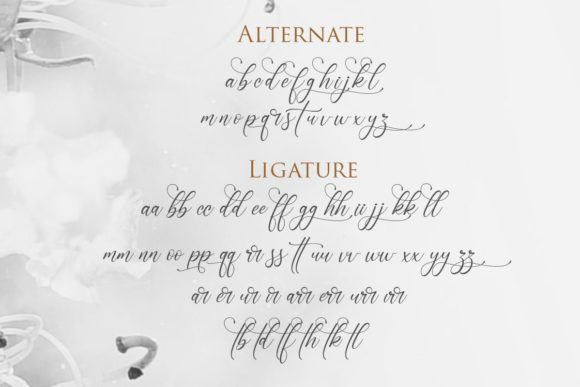 Print on Demand: Sonetha Script & Handwritten Font By Gilar Studio - Image 3