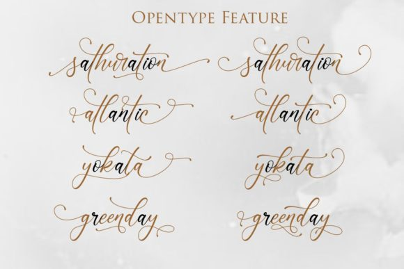 Print on Demand: Sonetha Script & Handwritten Font By Gilar Studio - Image 5