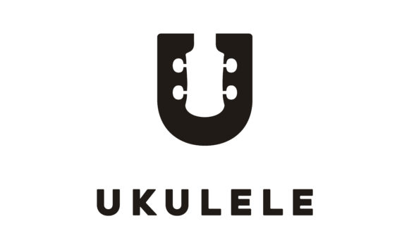 Download Free Letter U Uke Ukulele Guitar Music Logo Graphic By Enola99d Creative Fabrica for Cricut Explore, Silhouette and other cutting machines.